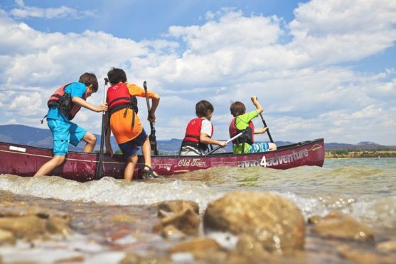 Canoeing summer camp