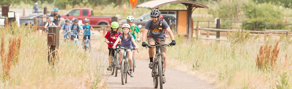 Mountain biking summer camp
