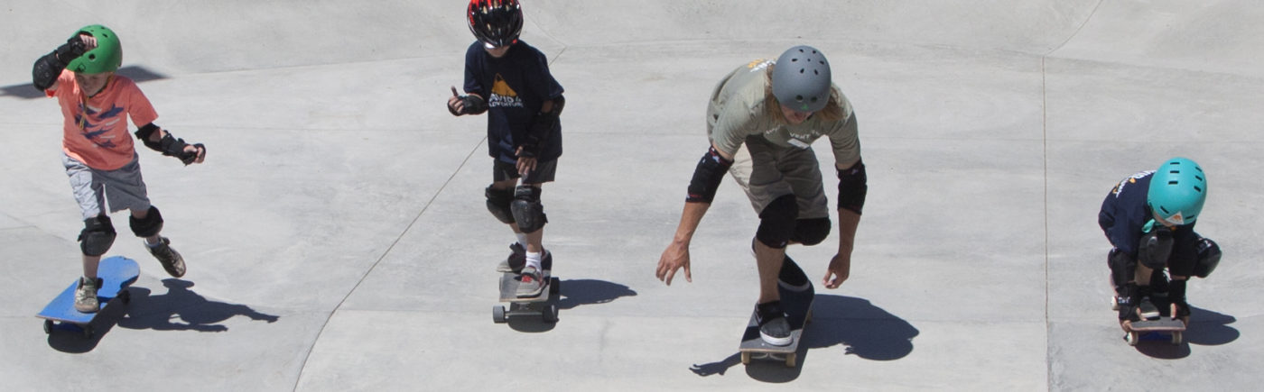 Skateboarding summer camp