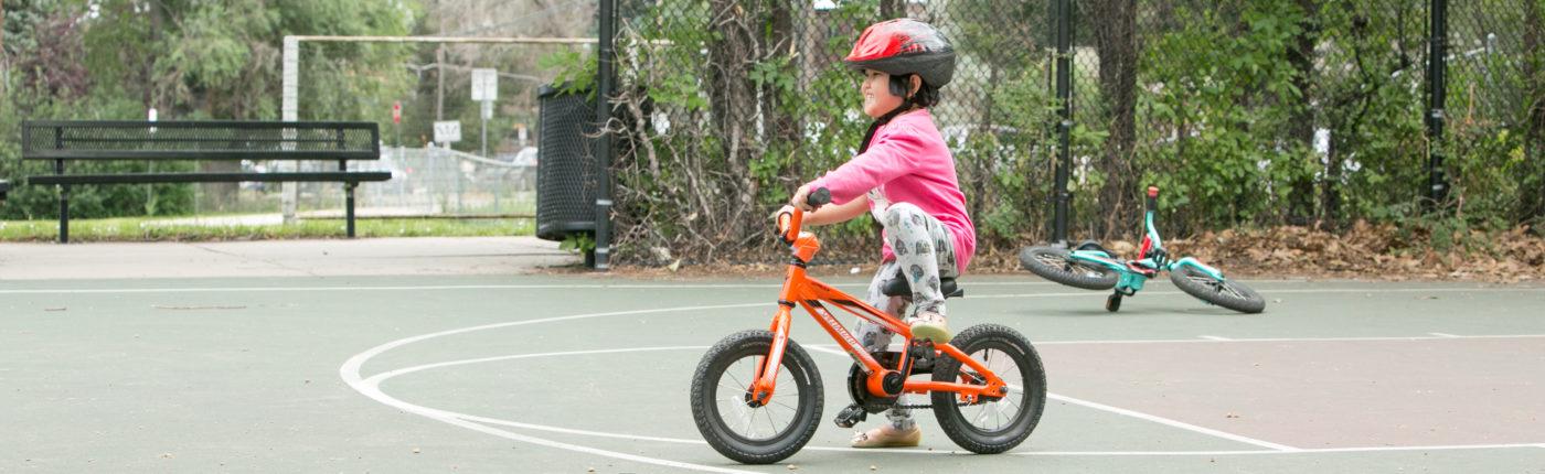 learn to bike summer camp