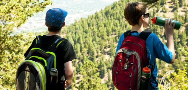 hiking summer camp