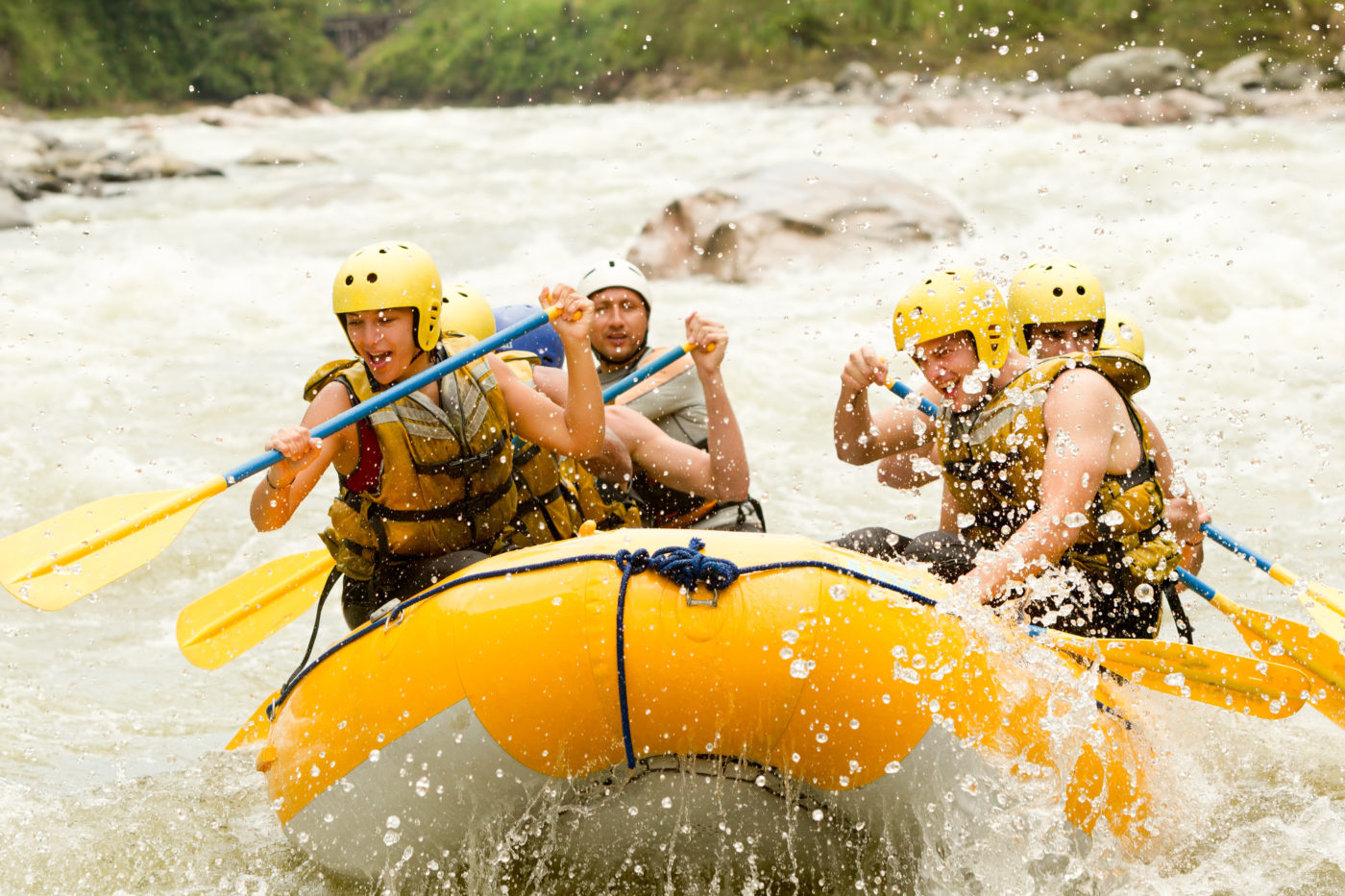 Whitewater River Rafting Fun